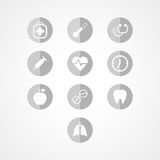 Medyczna sieci ikona Zdjęcia Stock