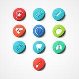 Medyczna sieci ikona Zdjęcie Stock