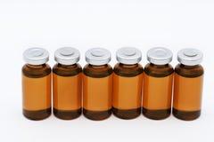 Medyczne ampułki obrazy stock