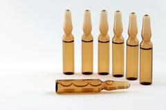 Medyczne buteleczki dla wtryskowego leka Obrazy Royalty Free