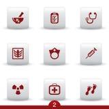 medyczne ikon serie ilustracji