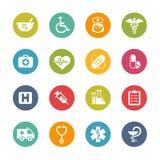 Medyczne ikony -- Świeże kolor serie Obrazy Stock