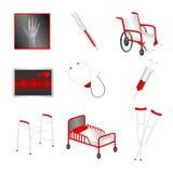 Medyczne ikony Zdjęcie Royalty Free