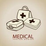Medyczne ikony Zdjęcie Stock