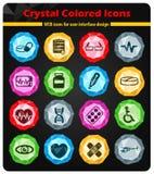 Medyczne ikony po prostu Obraz Stock