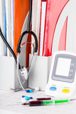 Medyczne strzykawki Obraz Stock