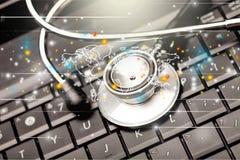Medycznego egzaminu oprogramowanie Fotografia Stock