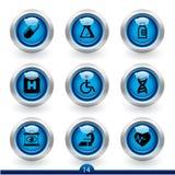 medycznej ikony 14 serii royalty ilustracja