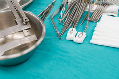 Medyczni equipments dla operaci Obrazy Royalty Free