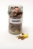 Medyczny, apteko lub środka farmaceutycznego savings, Obrazy Stock