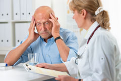 Medyczny egzamin Zdjęcia Stock