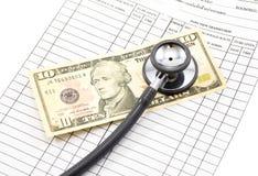 Medyczny i biznesowy przeciwu cept Obraz Stock