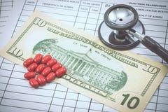 Medyczny i biznesowy przeciwu cept Fotografia Stock