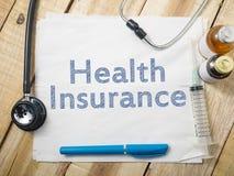 Medyczny i opieka zdrowotna pojęcie, ubezpieczenie zdrowotne zdjęcie stock