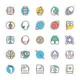 Medyczny i zdrowie Cool Wektorowe ikony 4 Zdjęcie Royalty Free