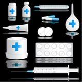 medyczny ikona set Fotografia Stock