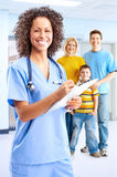 medyczny ja target1278_0_ pielęgniarki Fotografia Royalty Free