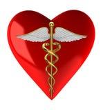 medyczny kaduceuszu symbol Obrazy Stock