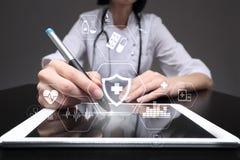 MEDYCZNY pojęcie Zdrowie ochrona Nowożytna technologia w medycynie zdjęcie royalty free