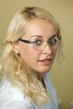 Medyczny pracownik piękny portret Obraz Stock