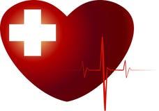 Medyczny serce Obraz Royalty Free