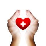 Medyczny serce Fotografia Stock