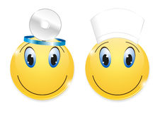 Medyczny smiley Fotografia Stock