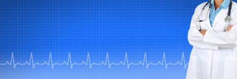 Medyczny sztandar Fotografia Stock