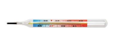 Medyczny termometr Zdjęcia Royalty Free
