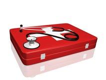 medyczny zestawu stetoskop Zdjęcia Stock