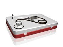 medyczny zestawu stetoskop Obraz Stock