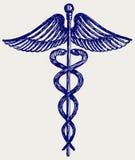 Medyczny znak royalty ilustracja