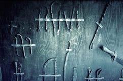 Medycznych instrumentów inkwizycja Fotografia Stock
