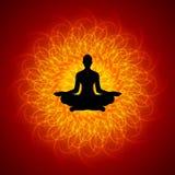 medytaci joga Zdjęcie Stock