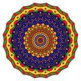 Medytaci mandala Ilustracji