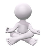 medytaci zen Fotografia Royalty Free