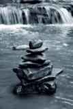 medytacj skał Obraz Royalty Free