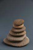 Medytacj skały fotografia stock