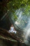 medytacja obraz royalty free