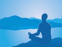 medytacja ilustracji