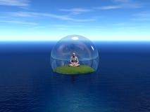 medytacja Zdjęcie Stock