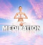 medytacja Obrazy Stock