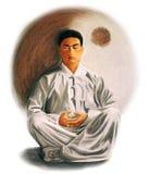 medytacja ilustracja wektor