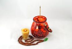Medytacja, buddyzm, pokój i spokój, Fotografia Stock