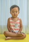 Medytacja Dla dzieciaka Zdjęcia Stock