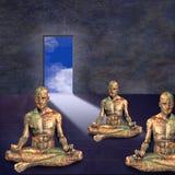 medytacja pokój Obrazy Stock