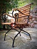 Medytacji krzesło obrazy royalty free