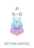 Medytacyjne zwierzę serie 2 Obraz Royalty Free