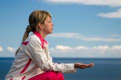 medytować Obrazy Stock