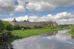 Medzhybizh Castle in Ukraine Stock Image